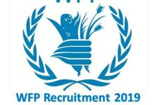 WFP Recruitment 2019