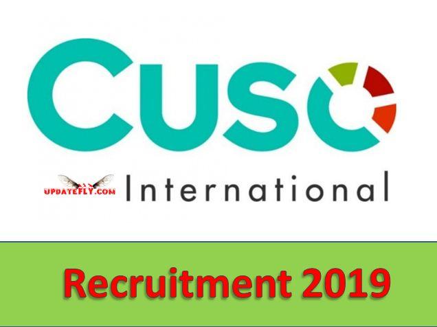Cuso International Recruitment 2019