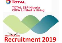 Total E&P Nigeria CPFA Limited Recruitment 2019