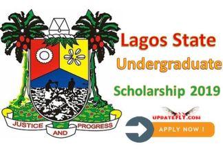 Lagos State Undergraduate Scholarship 2019