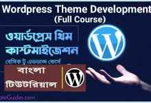 Photo of Protected: 01: WordPress theme Customization Bangla Full Course
