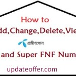 How to add/remove GP fnf/super numbers