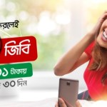 Robi Bondho SIM Offer 2018 (10GB Internet)