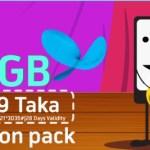 GP 2GB Action Pack 299Tk Offer