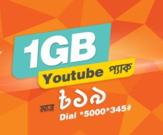 Banglalink YouTube Pack