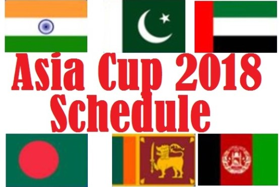 Asia Cup Schedule 2018