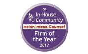 asian mena counsel in house community firm of the year 2017 updates small