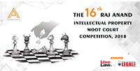 The 16th Raj Anand Moot Court Competition