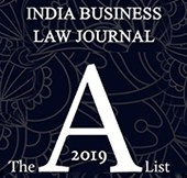 INDIA BUSINESS LAW JOURNAL- A LIST LAWYERS 2019