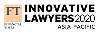 FT Innovative Lawyers Awards Asia Pacific 2020