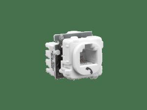 Clipsal  30rj66smt  Modular Socket, Category 3, 6 Way, 6