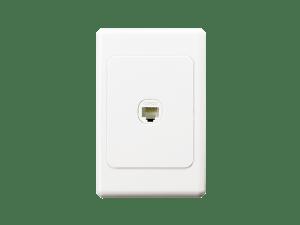 Clipsal  30RJ45SMA5SH  Modular Socket, Category 5E, UTP