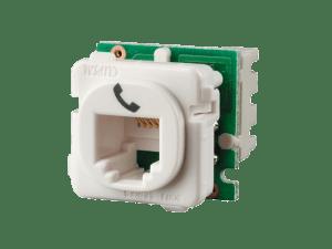 Clipsal  30RJ64SMT  Modular Socket, Category 3, 6 Way, 4