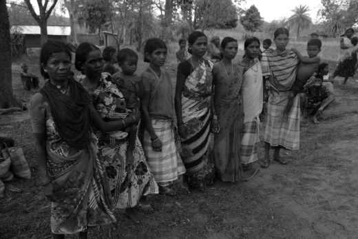 The women who have filed a complaint after being beaten up by the police forces