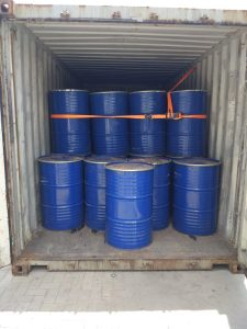 Drums packed for export