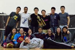 Northeast Collegiate Team Badminton Championships (Oct 2015 @ Maryland)