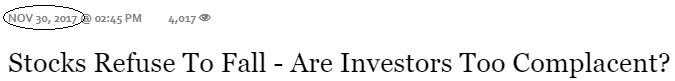 Forbes Headline Reveals Optimism Level In 2017