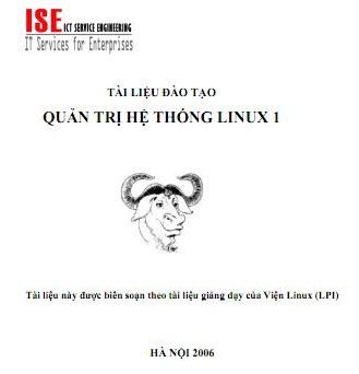 Ebook sách giáo trình Quản trị hệ thống Linux Tiếng Việt 1