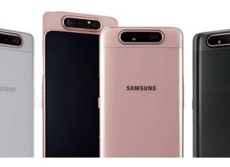 Confira: Ficha Técnica Samsung Galaxy A80
