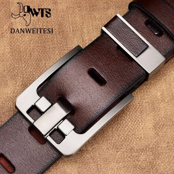 Men's Genuine Cowhide Leather Belt 1
