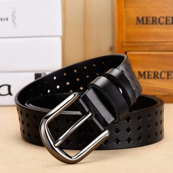 leather belt women