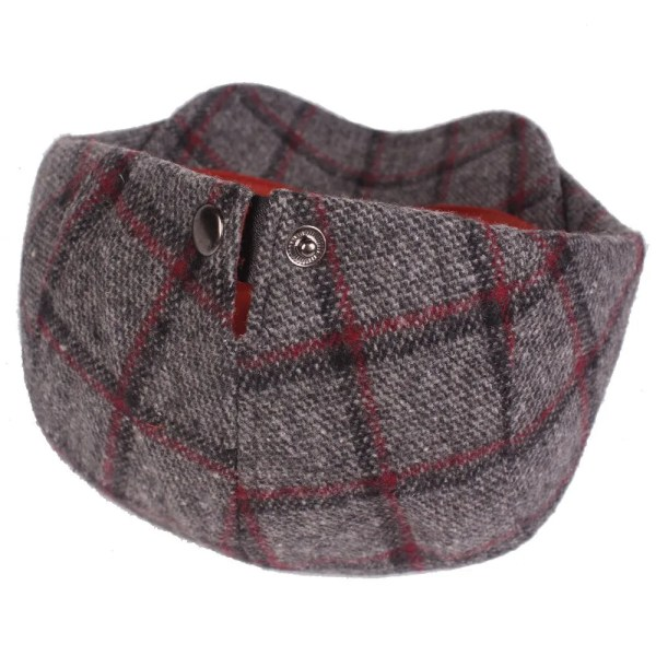 Spring Autumn Hats For Men in Casual Plaid Cotton 4