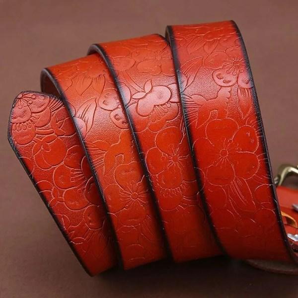 Fashion Women Leather Belts 3