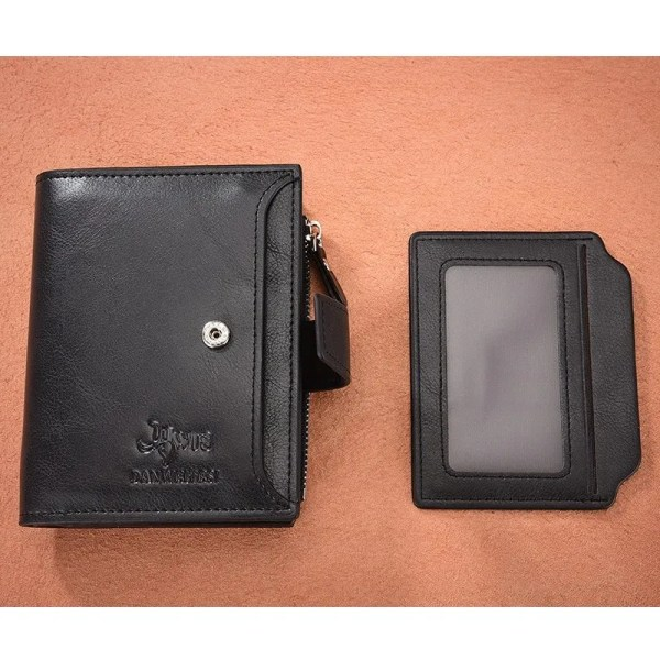Men's High Quality Leather Wallet Purse 5