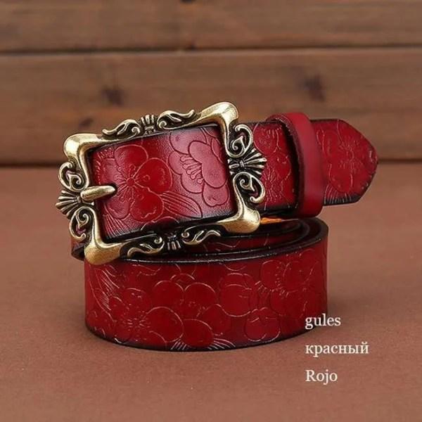 Fashion Women Leather Belts 6