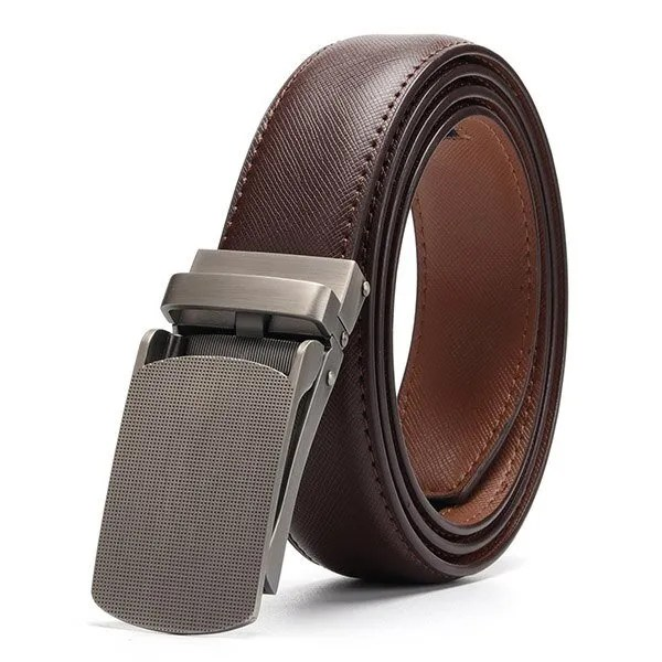 Genuine Leather Men Strap Luxury Belt 8