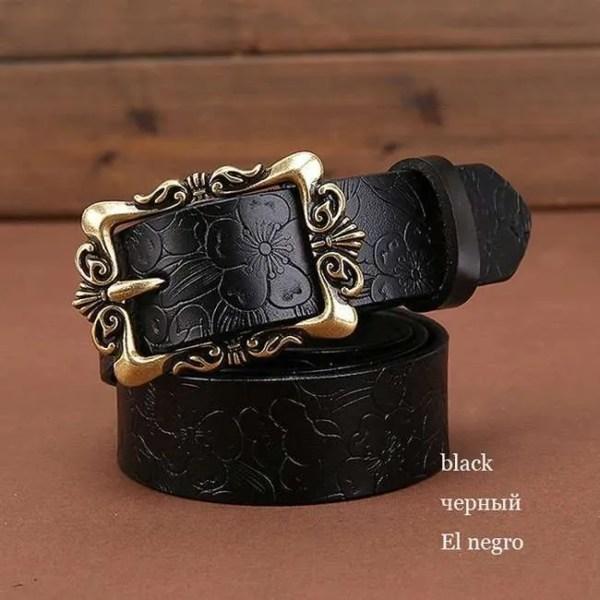 Fashion Women Leather Belts 8