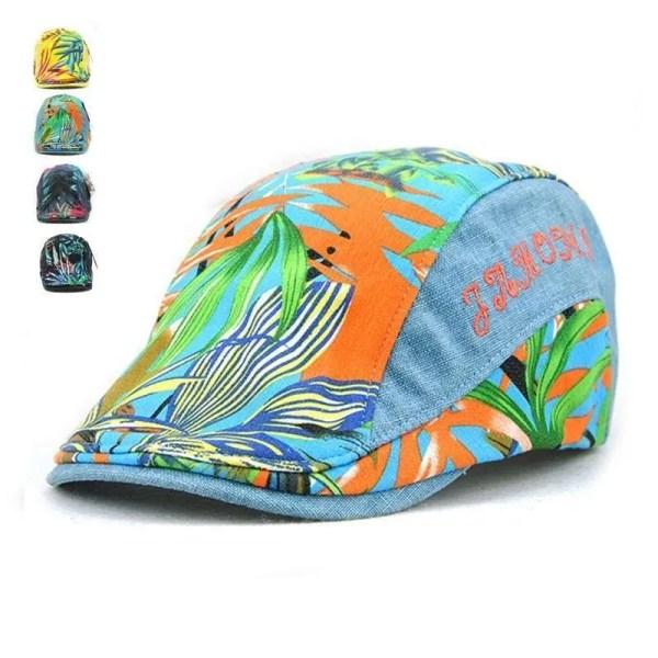 Adjustable Beret Caps Spring Summer Outdoor Sun Hats 1