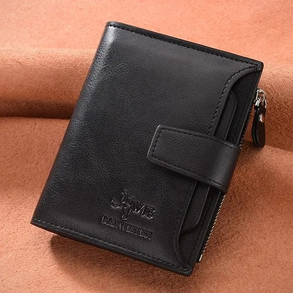 Men's High Quality Leather Wallet Purse 7