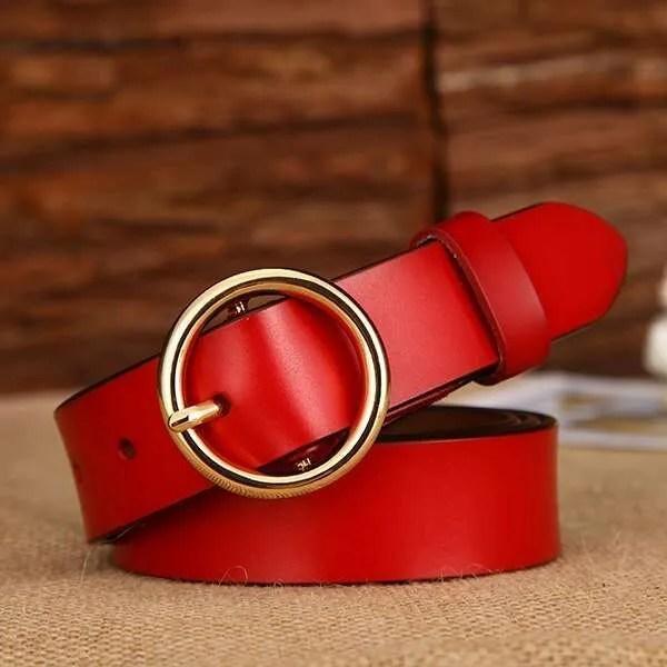 Designer Leather Belt for Women 9