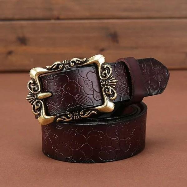 Fashion Women Leather Belts 1