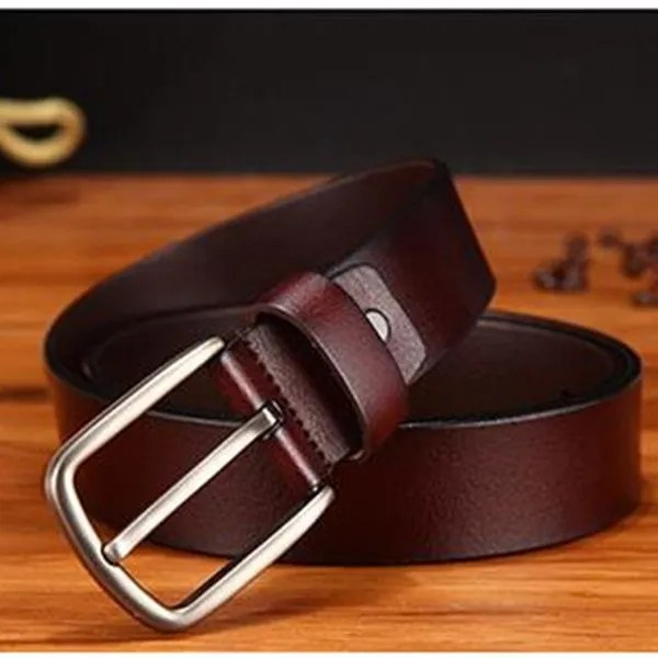 Men's Genuine Cowhide Leather Belt 13