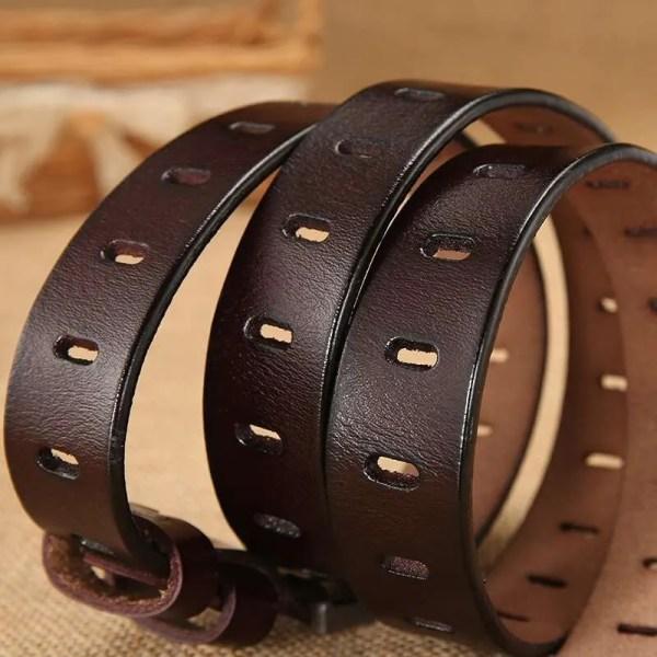 Women Designer Fashion Leather Belt 5