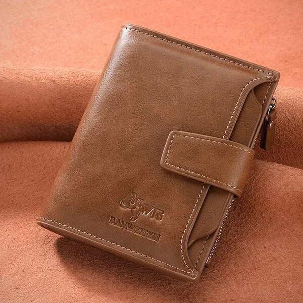 Men's High Quality Leather Wallet Purse 6