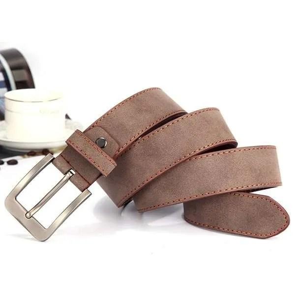 2019 Fashion Leather Belt for Men Italian Design 5