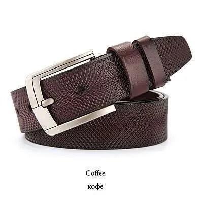 Genuine Cowskin Leather Belts for Men 17