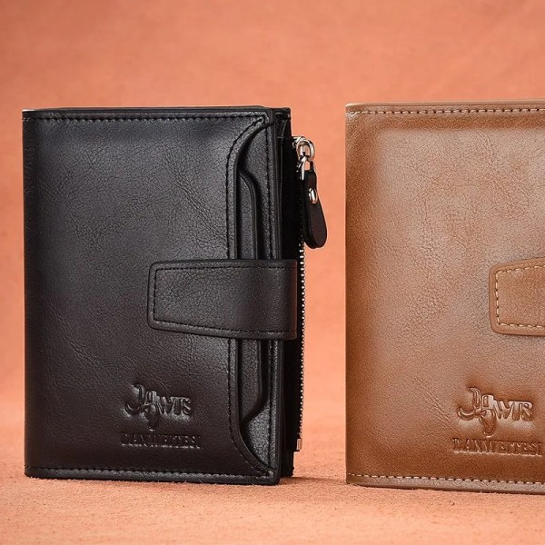 Men's High Quality Leather Wallet Purse 3
