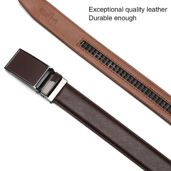 Genuine Leather Men Strap Luxury Belt 2