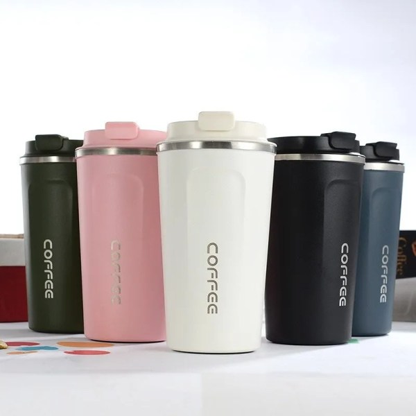 New Style Double 304 Stainless Steel Mug Thermos 1
