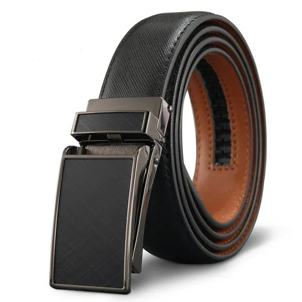 Genuine Leather Men Strap Luxury Belt 11