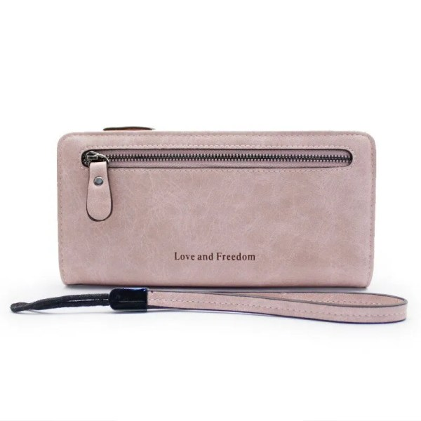 Women Fashion PU Leather Long Wallet 8