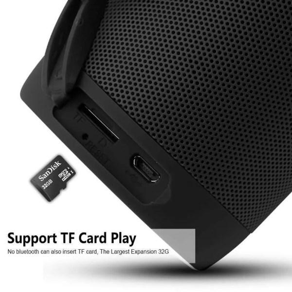 Wireless Bluetooth Mini Column Portable Loudspeaker (TF Card Insert)