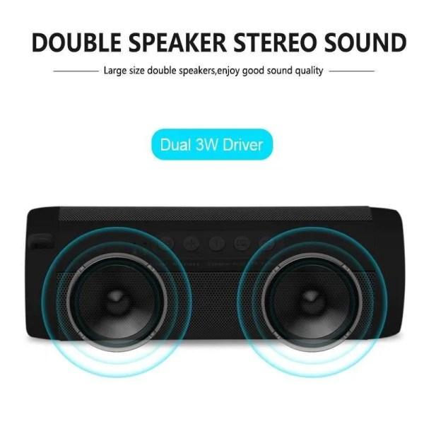 Wireless Bluetooth Mini Column Portable Loudspeaker (Double Speaker Sound)