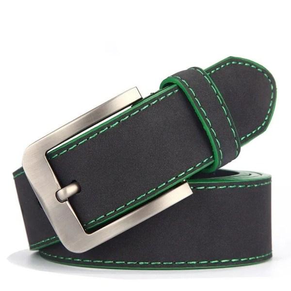 2019 Fashion Leather Belt for Men Italian Design 11