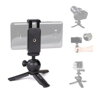 Mini Desktop Tabletop Portable Travel Tripod for Cell Phone