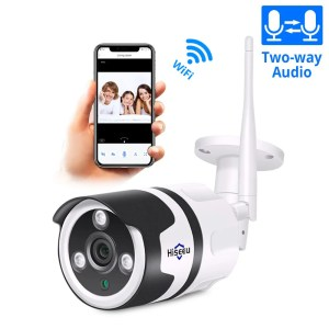 Hiseeu 2MP Wifi Waterproof Outdoor IP Security Camera